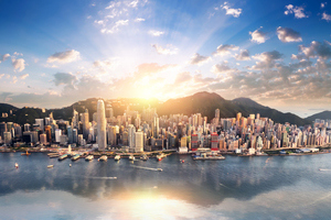 Hong Kong Cityscape Wallpaper