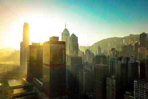 Hongkong Buildings Skycrapper City 4k Wallpaper
