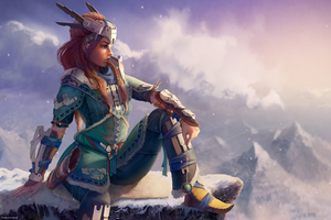 Horizon Zero Dawn Aloy Artwork Wallpaper