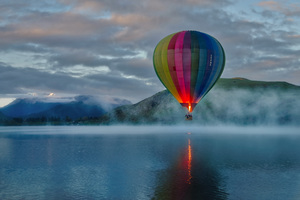 Hot Air Balloon 8k