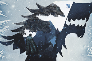 House Stark 4k Wallpaper