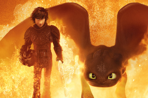 How To Train Your Dragon The Hidden World 4k 2019 Wallpaper