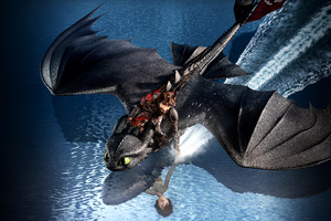 How To Train Your Dragon The Hidden World 8k Wallpaper