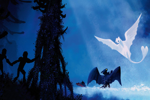 How To Train Your Dragon The Hidden World Poster Wallpaper