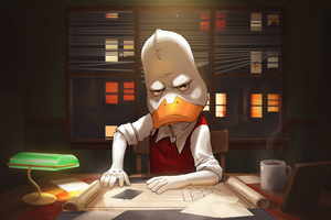 Howard The Duck Contest Of Champions Wallpaper