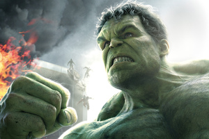Hulk In Avangers Wallpaper