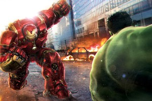Hulk Vs Hulkbuster Wallpaper