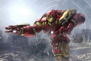 Hulkbuster 4k Wallpaper