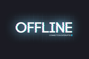 I Am Offline Wallpaper