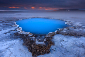 Ice Iceland Lake Wallpaper