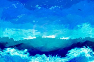 Illustration Blue Sky Artwork Drawing Painting Wallpaper