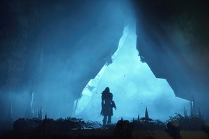 In Cave Horizon Zero Dawn 4k Wallpaper