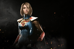 Injustice 2 Supergirl Wallpaper
