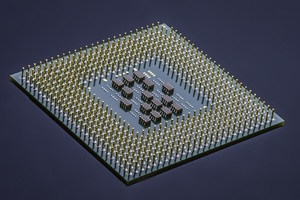 Integrated Circuit Computer Processor Microchip Technology Wallpaper