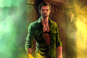 Iron Fist In The Defenders Artwork