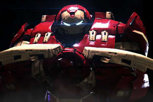 Iron Hulkbuster 10k Wallpaper