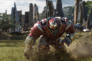 Iron Hulkbuster In Avengers Infinity War 2018 Wallpaper
