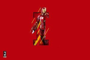 Iron Man 5k Art