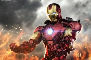 Iron Man 5k Digital Artwork Wallpaper