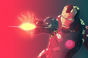 Iron Man Abstract