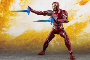 Iron Man Action Figure 5k Wallpaper