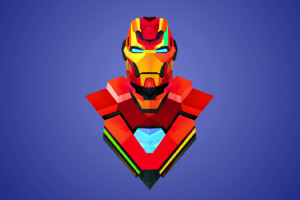 Iron Man Art Abstract