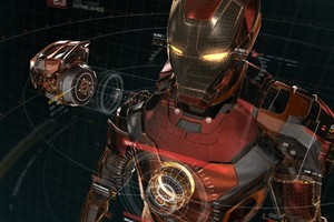 Iron Man Artwork 4k