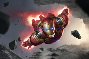 Iron Man Artwork Fan Made