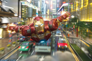 Iron Man Disneyland Hong Kong 10k Wallpaper