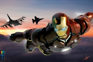 Iron Man Fighter Jets