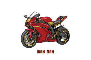 Iron Man Marvel Yamaha R6 Crossover