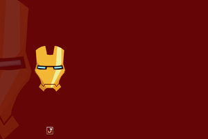 Iron Man Mask Minimalism