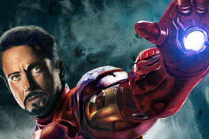Iron Man New Art 2018
