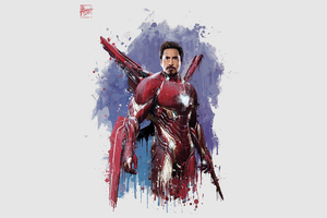 Iron Man New Suit For Avengers Infinity War Wallpaper