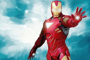 Iron Man Paint