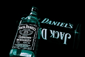 Jack Daniels Whiskey Bottle 2 Wallpaper