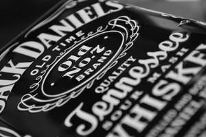 Jack Daniels Whiskey Bottle 3
