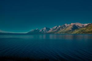 Jackson Lake In Wyoming 5k Wallpaper