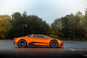 Jaguar C X75 007 Spectre Side View