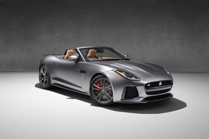 Jaguar F Type Convertible Car