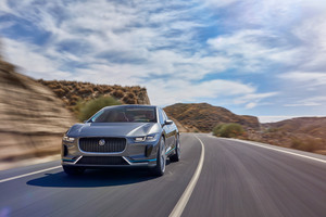 Jaguar I Pace Concept Car Wallpaper