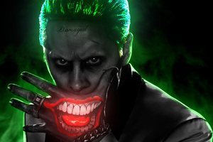 Jared Leto Joker 4k Wallpaper