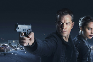 Jason Bourne 2016 Movie