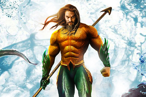 Jason Momoa Aquaman Wallpaper