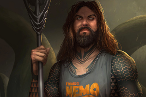 Jason Momoa Finding Nemo Wallpaper