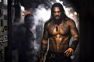 Jason Momoa In Aquaman 2018