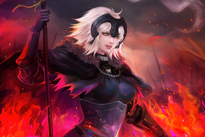 Jeanne Alter Anime Fate Grand Order