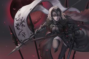 Jeanne DArc Alter Avenger Fate Grand Order