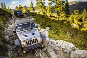 Jeep Wrangler Offroading