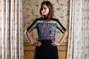 Jenna Coleman Actress Wallpaper